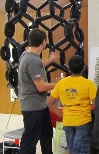 Outreach Booth Science Olympiad 2015